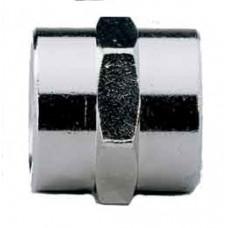 Соединитель -муфта с цилиндрической резьбой A123 FF