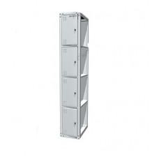 Шкаф раздевальный односекционный 03.314/D-7035