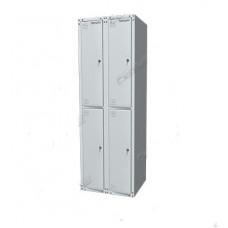 Шкаф раздевальный односекционный 03.324-7035
