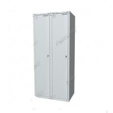 Шкаф раздевальный двухсекционный 03.422-7035