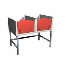 03.510-9007 - подставка для двух секций шкафов серии 100.