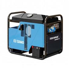 Однофазный бензиновый генератор SDMO TECHNIC 10000 E AVR