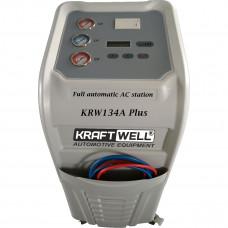 Автоматическая станция для заправки автокондиционеров KRW134A Plus