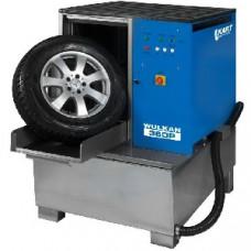 Мойка для колес легковых и грузовых автомобилей с пневматической установкой стабилизации колеса WULKAN360P