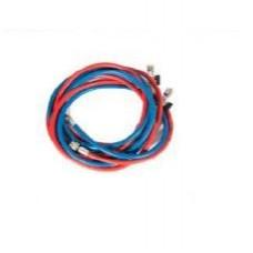 01.000.17 17.1CR - гибкий шланг с клапаном и резьбой 1/4 SAE. Длина 3 метра. (Синий Красный)