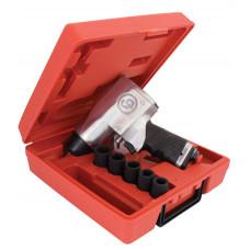 Ударный реверсивный пневмогайковерт в кейсе CP734H Kit
