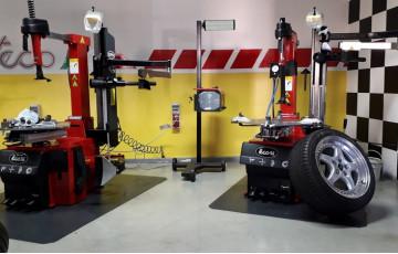 Оборудование TECO на производственном заводе, Италия