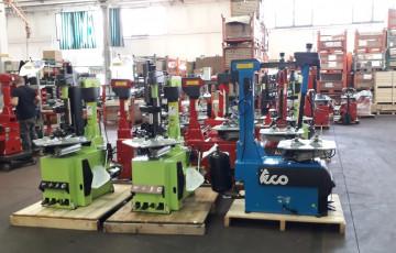 Оборудование с завода ТЕСО, Италия