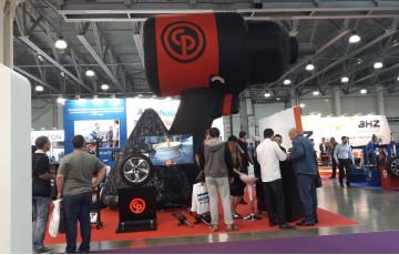 Chicago Pneumatic на выставке Интеравто 2019 в Москве