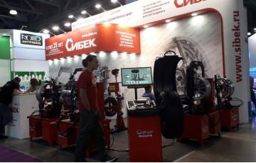 Бренд оборудования СибЕК на выставке Интеравто 2019 в Москве