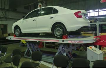 Посещение завода компании Евросив по производству автостапельного оборудования