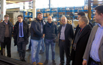 Руководство завода OMA-Werther