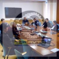 Производственное совещание с Chicago Pneumatic в Москве