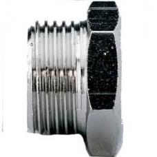 Переходник с цилиндрической наружней и внутренней резьбой A125 MF