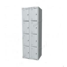 Шкаф раздевальный двухсекционный 03.428-7035