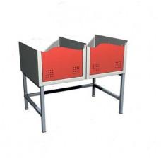 Подставка для двух секций шкафов 03.510-9007