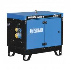 Генераторная установка SDMO DIESEL 6000 E SILENCE