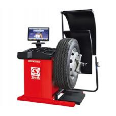 Балансировочный стенд для колес полуавтоматический TRUCKER Luxe