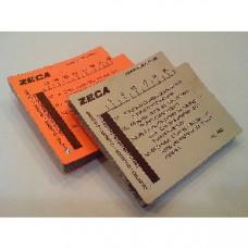 Комплект сменных карточек Zeca 366