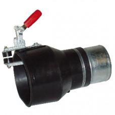 BGNP3000150180 Насадка газоприёмная из каучука с зажимом Aerservice