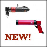 Обновление каталога пневмоинструмента - две новые модели!