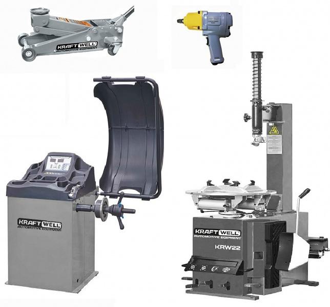 подъемное и шиномонтажное оборудование для автосервиса