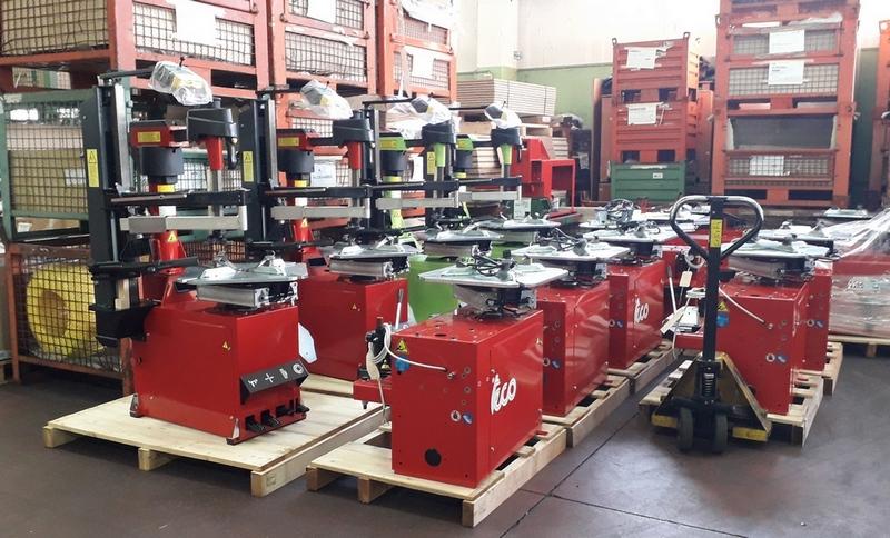 шиномонтажного оборудования TECO